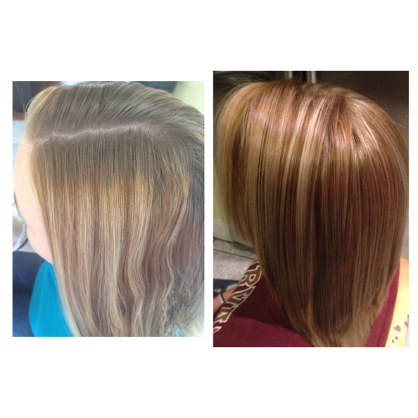Before And After  Hair Design